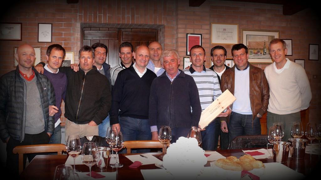 Mitglieder der Weinrunde